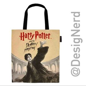 HARRY POTTER AND THE DEATHLY HALLOWS LARGE TOTE